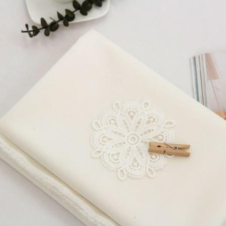 Linen Rayon Fabric) Creamy