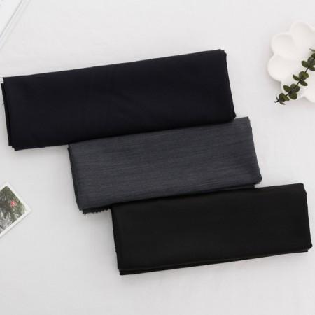 Large-wool silk fabric) Black pearl (three kinds)