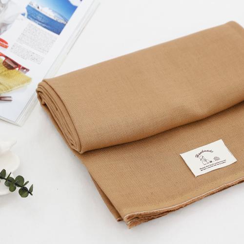 Linen fabric) Vintage (brown)