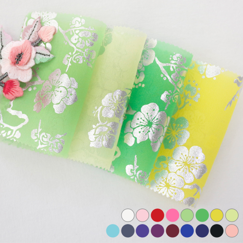 Hanbok Fabric Hanbok Fabric) Large Fabric - Silver Plum 17color