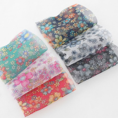 Hanbok Fabric Hanbok Fabric) Big Fabric - Seemyoshi Flower 6color