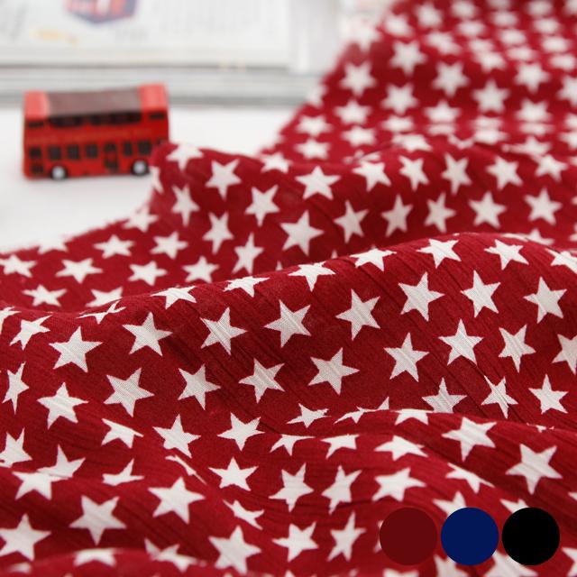 Rayon yoru fabric) Star Star (three species)