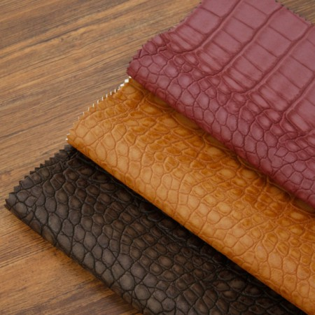 Greatly-Imported Artificial Leather Fabric) Soft Grocery (3 kinds) [TS-20019]