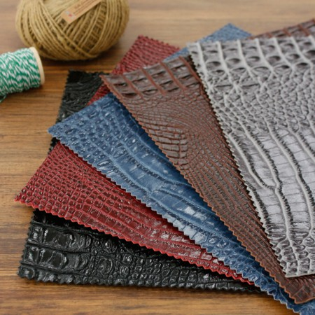 Greatly-Imported Artificial Leather Fabric) Reality Real Crocker (5 types) [TS-20025]