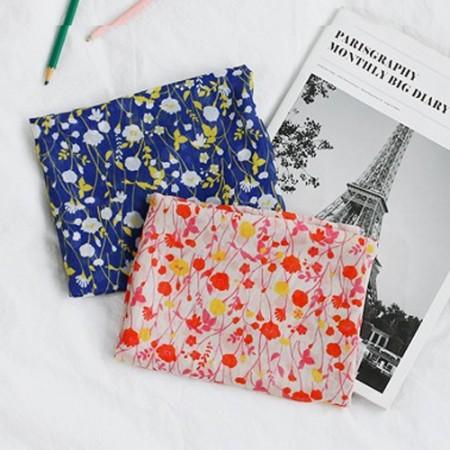 Large-chiffon fabric) Endless (2 kinds)
