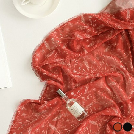 Large-chiffon fabric) Botany (2 kinds)