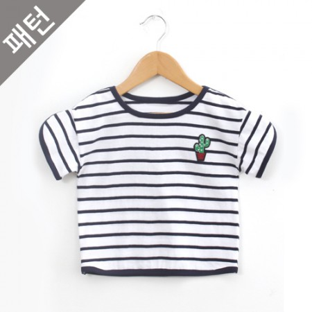 Patterns-Children) Children T-shirt [P889]