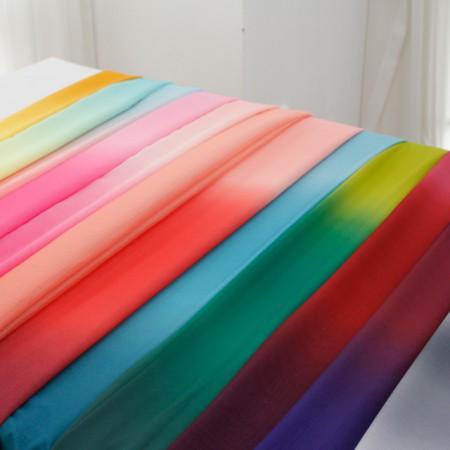 Large-chiffon fabric) Gradation (12 kinds)