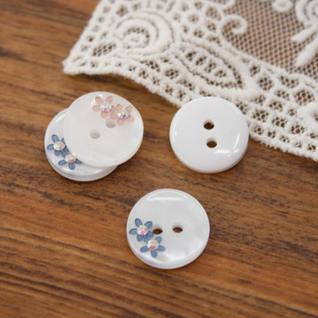 [2Piece] Zip Piece Button) 13mm Jewelry Zodiac Button (2 kinds)
