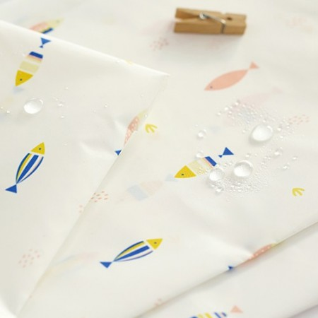 Wide - waterproof cloth) Simple herring [040]