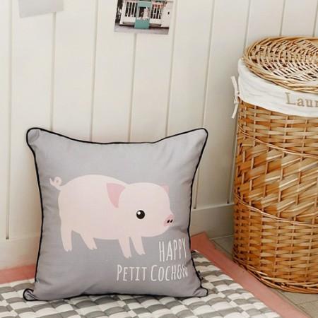 Classy linen cut paper) Petit cochon (large)