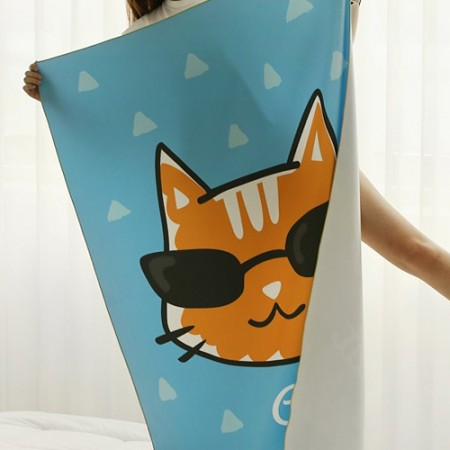 Ultra-dense microfiber sports towel) Sikkat [004]