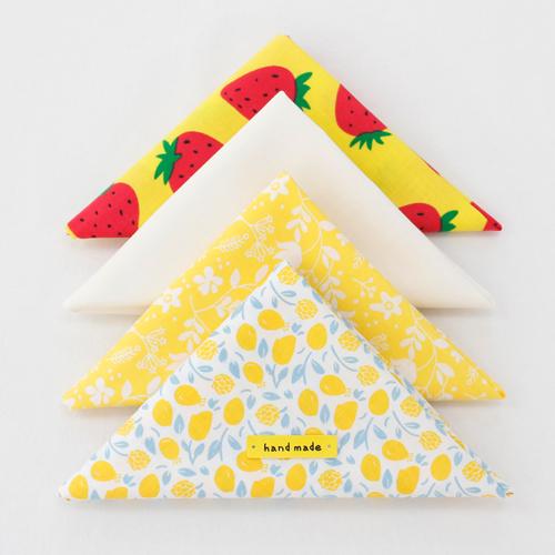 [Itz 044] Fabric Package) Yellow Berry (4 pack) 1 / 4Hermp