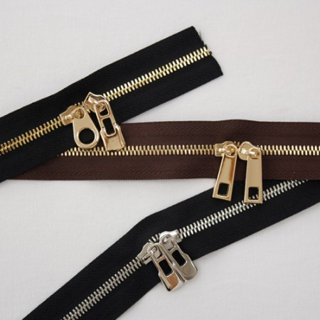 High-grade nickel) Zipper_3 (three kinds)
