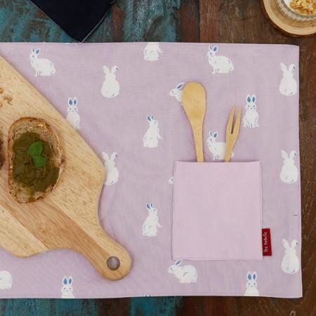 Advanced matte laminate fabric) Lara Rabbit