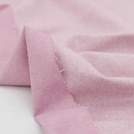 Largely-imported wool blend fabric) Light Purple