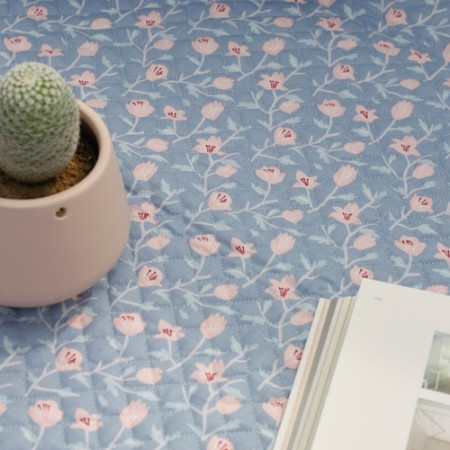 20 woven plain weave fabric) Milky lily