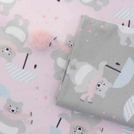 20 cotton fabric) umbrella bitter bear (2 species)