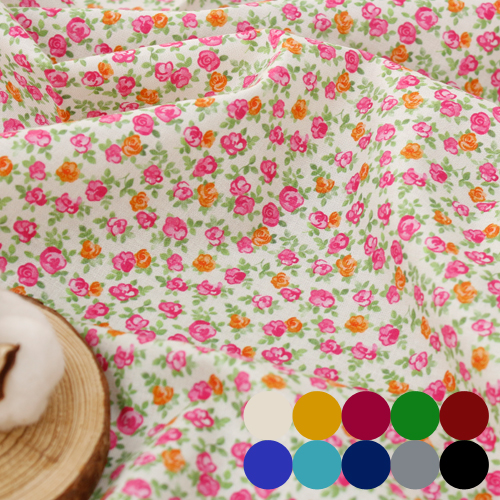 Finest DTP20 woven cloth) Petit roses (10 kinds)
