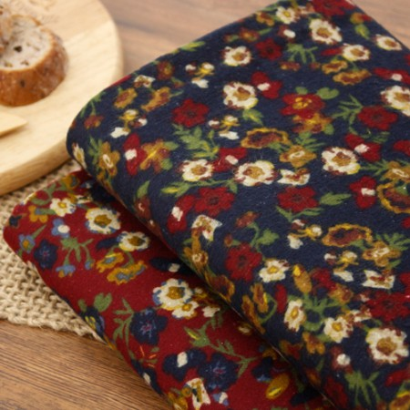 Large-sized brushed fabric) Wildflower (2 kinds)