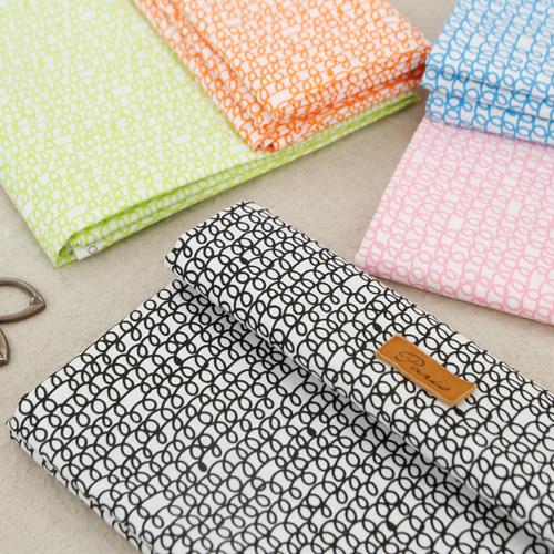30 cotton fabrics) Scandinavian drawing (5 kinds)