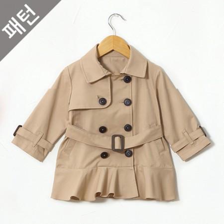 Patterns-Children) Children Coat [P784]