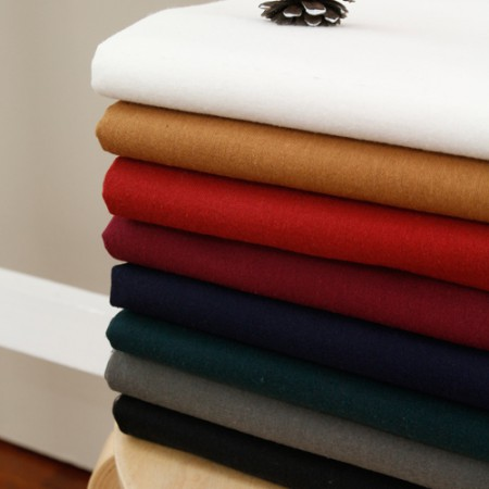 Wide - both sides brushed fabric) maple (8 species)