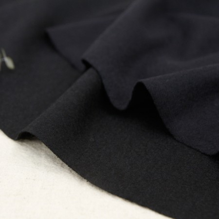 Large-wool knit fabric) Skinny Black (2 kinds)