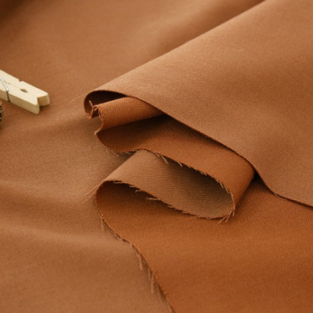 Large-wool blend fabric) wool span [Brown]
