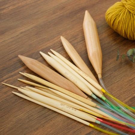 Knitting needles Wooden needles (17 species)