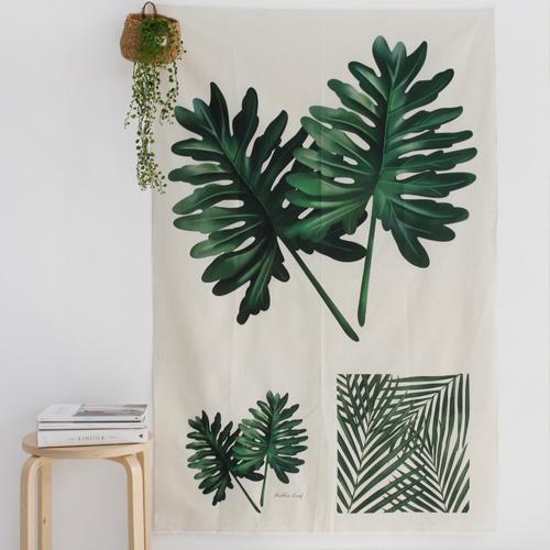 Linen cut) Botanical - Big Selem