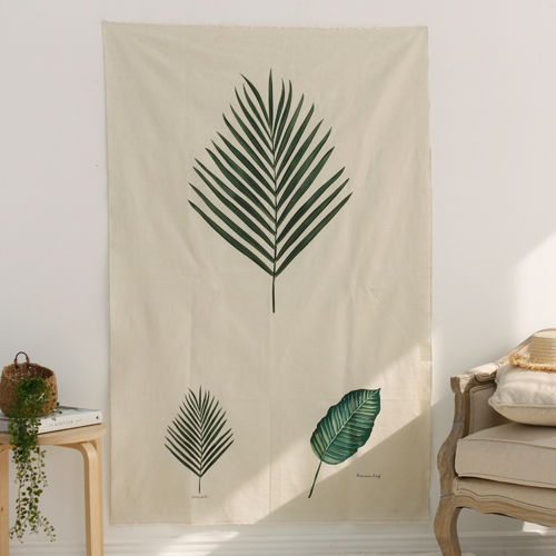 Linen cut paper) Botanical - Areca palm