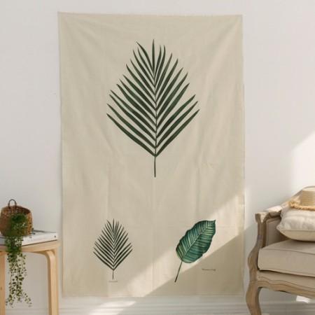 Linen cut paper) Botanical - Areca palm
