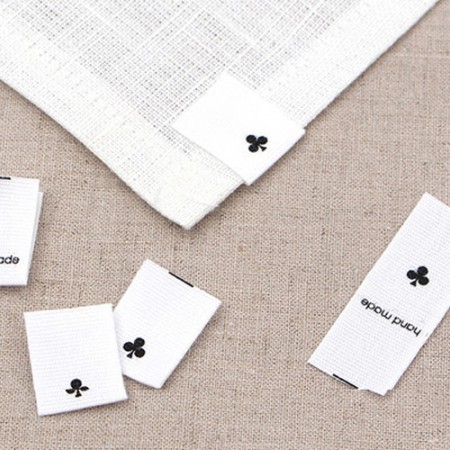 [5Piece] insert label) three leaf clover [LB009]