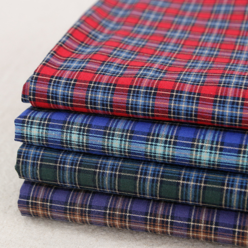 Large -20 water washing fabric) Indy check (four kinds)