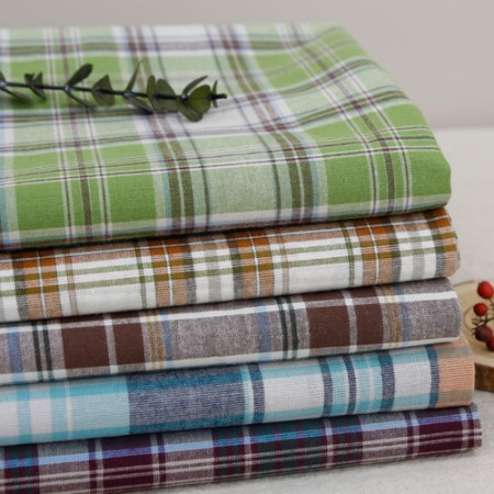 Big-20 sewing cloth) Vintage check (5 kinds)