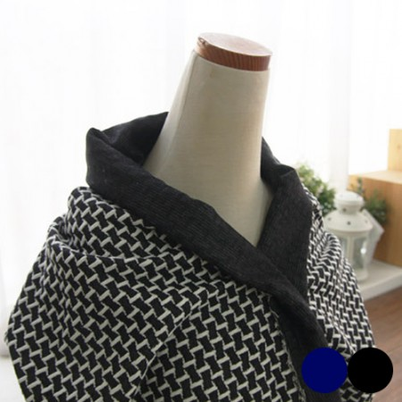 Large-knit fabric) Brick (2 kinds)
