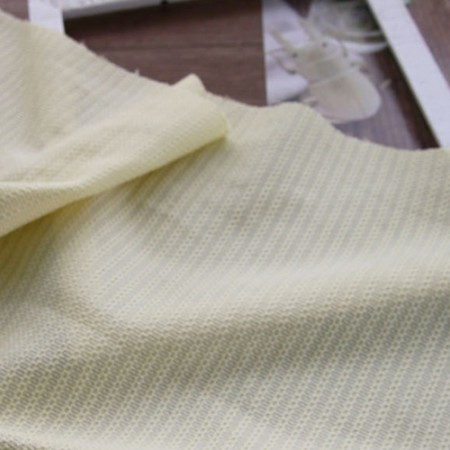 Knit) Cotton Knit (Pastel Yellow)