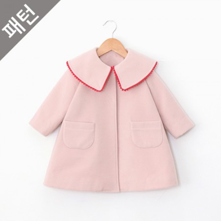 Patterns-Children) Children Coat [P824]