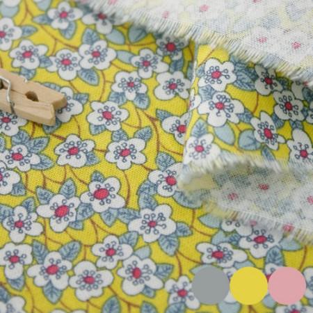 20 woven fabrics) Liberty flower (3 kinds)
