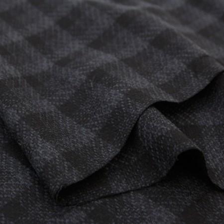 Width - Wool Fabric) Wool Check