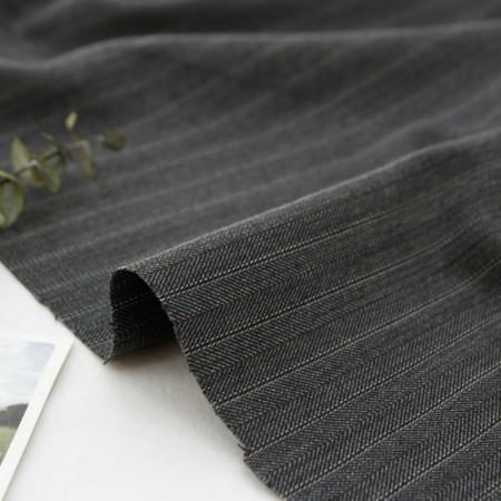 Large-wool span fabric) Modern stripes