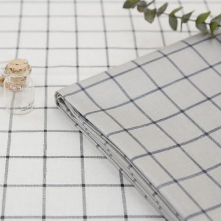 Big-TPU laminate fabric) Big check (2 kinds)