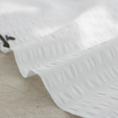 Ripple fabric) jacquard (white child)