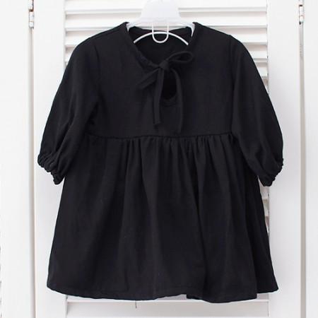 Dramatic cotton rayon black suit gabardine pure