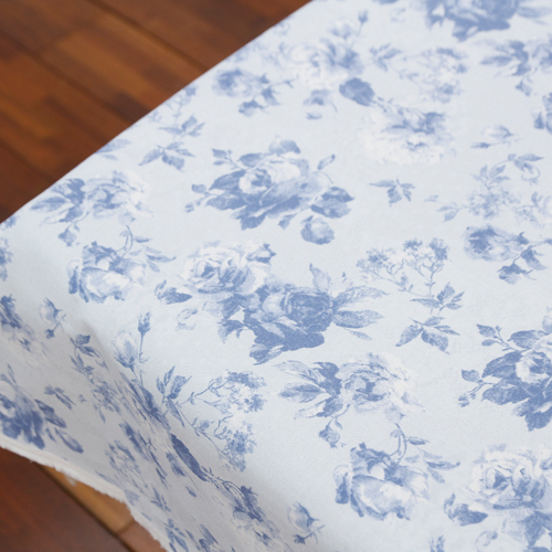 20th oxford fabric) Blue rose