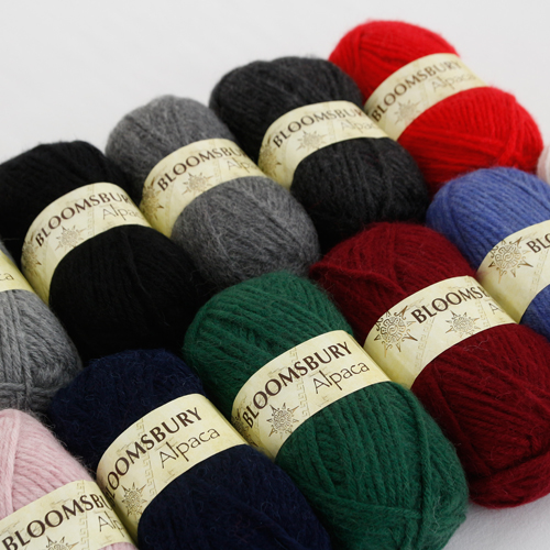 Hand Knotted Yarn Blossom Zubari Alpaca (11 species)
