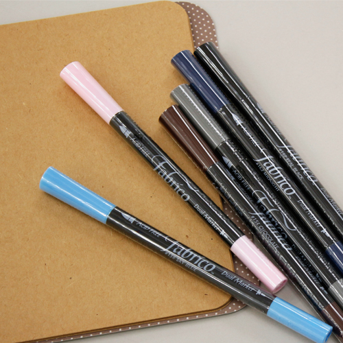 Fabric dye cloth pen fabric nose fabric pen (6 kinds)