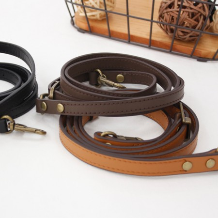 Luxury leather cross handle) 12mm simple stitch handle (3 kinds)
