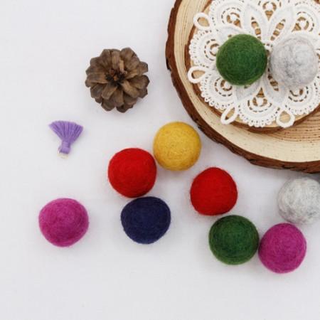 [2Piece] Wool ball _3cm (6 species)